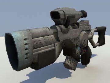 Enforcers Ion Blaster
