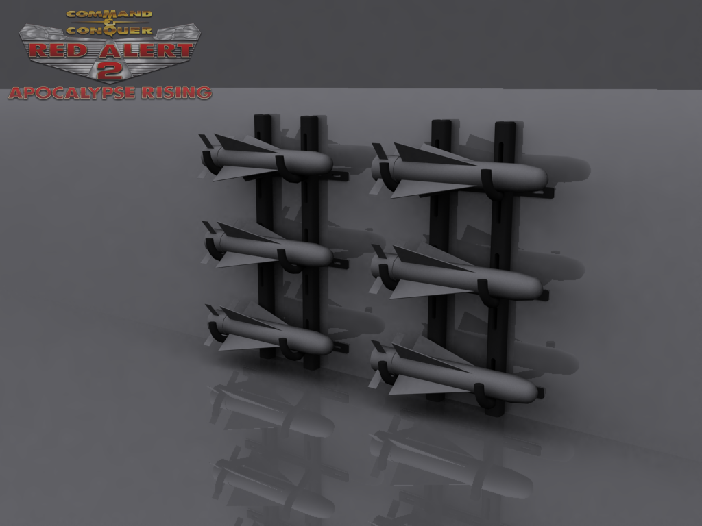 Harrier Missile Racks (Major Weakpoint)